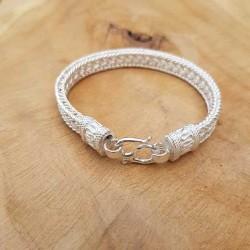 Bracelet snake Horizon clair .