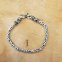Bracelet snake Byzantin vieilli .