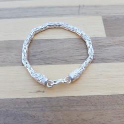 Bracelet snake Byzantin moyen clair