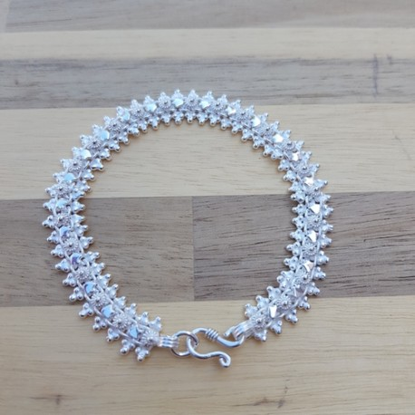 Bracelet snake étoile clair