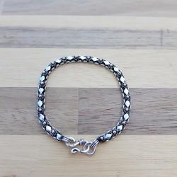 Bracelet snake étincelle  vieilli