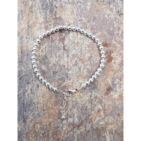 Bracelet Boules 4 mm
