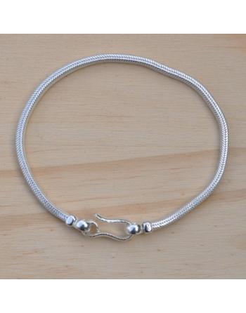 Bracelet snake carré 2mm