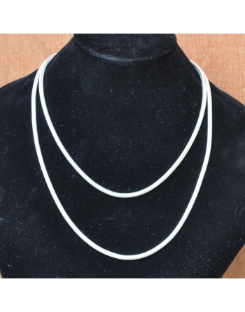 Collier snake rond 4mm...